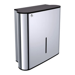 """WS Bath Collections - System 3549.001.00 Paper Towel Dispenser - System 3549.001.00, 13.0 x 5.2"""" x 11.8"""", Paper Towel Dispenser"""