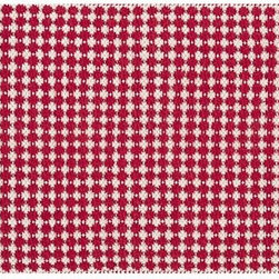Bromley Rug - Add a red rug to the kitchen for an easy decor change.