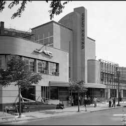 Greyhound Bus Terminal, New York Avenue, DC Print - At the cross of New York Avenue and Eleventh Street Northwest, Washington, District of Columbia, DC. Photographed by Jack Boucher for HABS.