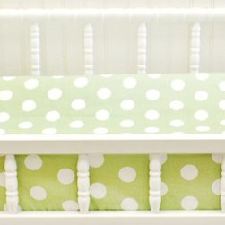 My Baby Sam - My Baby Sam Pixie Baby in Green Dot Changing Pad Cover - CPC66 - Shop for Baby Changing Table Sheets and Pad Covers from Hayneedle.com! You'll go dotty over the look of the My Baby Sam Pixie Baby in Green Dot Changing Pad Cover. The machine-washable cotton design means easy care. The sweet green and white polka dot pattern adds a charming touch to her nursery. Part of the Pink Pixie Baby collection.About My Baby Sam Inc.My Baby Sam was dreamed up by mom-of-three Tori Swaim in 2001. My Baby Sam provides a fun and diverse selection of baby bedding and kids room decor at an affordable price. With their bedding nursery and kids decor letters and baby gifts My Baby Sam products will help you create a dreamy nursery or your child s first big-kid room.