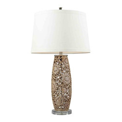 Dimond Lighting - Dimond Lighting D2261 Maria Golden Pearl Table Lamp - Dimond Lighting D2261 Maria Golden Pearl Table Lamp