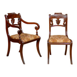 Regency Dining Chair, Set of 8