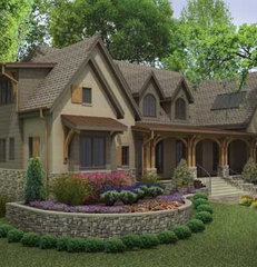 traditional rendering by BUILDING IDEAS / David Baird Architect