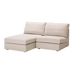 Ola Wihlborg - KIVIK One-seat section with chaise - One-seat section with chaise, Ingebo light beige