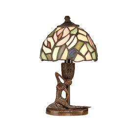 Dale Tiffany - Dale Tiffany TA10607 Tiffany Lady Accent Lamp - Shade: Hand Rolled Art Glass