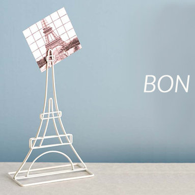 Office Accessories for Women - You'll be pleasantly surprised by the detail in this mini replica of the Eiffel Tower. Standing at almost 5 inches tall and made of stainless steel wire, you'll have a great place to display favorite photos, notes, or use for place cards! Shown with the rest of the Destinations Memo Clip collection.