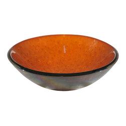 """Meyda Lighting - Meyda Lighting 116367 17""""W Ambrosia Fused Glass Sink - Meyda Lighting 116367 17""""W Ambrosia Fused Glass Sink"""