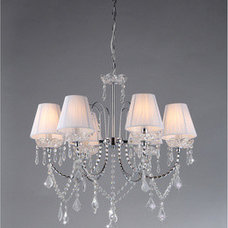 Paintings Warehouse of Tiffany Eros White Chandelier