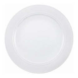 """Kahla - Matinee Charger Plate Set for 4 - All Modern Exclusive - KAHLA's critically acclaimed designer Barbara Schmidt with more than twenty international design awards introduces a sensual approach to modern dinnerware with this Charger Plate Set from the Matinee Collection. Schmidt delivers flowing contours that invite touch and leave an impression of porcelain and food blending into a perfect unity. The unique design is a refreshing and representative ingredient for creative connoisseurs. A simple but most effective way to present food in an enticing manner: Matinee. The clearly defined form with the delicate relief approaches all aspects of modern dining or running a hotel. A classic café atmosphere or a modern bistro are the ideal settings for experiencing Matinee's efforts as a perfect form blending with perfect function in a way which stands the test of time. Specially designed articles meet the needs of both servers and guests. Features: -Set includes: 4 charger plates -Microwave safe -Dishwasher safe -Freezer safe -Ovenproof -Hygienic, scratch-resistant glazing -Shock resistant -Reinforced edges -Overall Dimensions: 12.5"""" -KAHLA porcelain """" Made in Germany"""" quality you can count on -KAHLA received 69 design awards worldwide"""