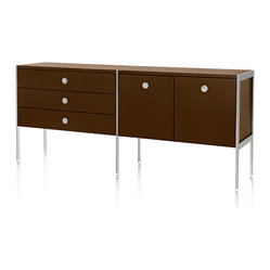 Geiger - H Frame 5-Drawer Credenza - Who knew storage and ...