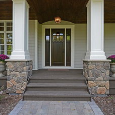 Traditional Porch by Mark D. Williams Custom Homes Inc
