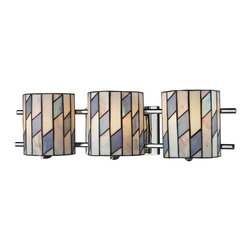 Dale Tiffany - New Dale Tiffany Vanity Lights Chrome Metal - Product Details