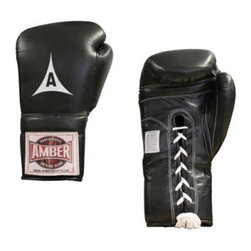 Amber Sports Mexican Style Professional Training Gloves - Use the Amber Sports Mexican Style Professional Training Gloves to help take your training sessions up a level. These gloves are constructed from durable leather and are well padded for protection. Your hands and wrists remain comfortable when used with handwraps and the thumb is attached for safety.Manufacturer's warranty included - see Product Guarantee for complete details.About Amber Sporting Goods Inc.Dedicated to bringing athletes and enthusiasts the best in training equipment for a variety of competitive sports Amber Sporting Goods offers everything from boxing accessories to kickboxing equipment from martial arts training products to soccer goods. No physical training stone is left unturned as Amber Sporting Goods strives to create the market's threshold for quality and innovation. From karate to boxing Amber Sporting Goods has you covered.