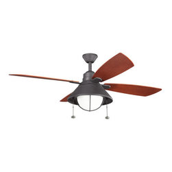 "Kichler - Kichler Seaside 54"" Outdoor Ceiling Fan - Kichler 310131 Seaside Ceiling Fan"