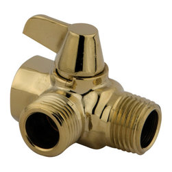 Kingston Brass - Solid Brass Flow Diverter for Shower Arm Mount - The solid brass flow diverter consists of two connecting holes, one to filter water through the hand shower and the other to the shower head. The lever provides transference of water switching from one valve to the next. The diverter is built in strong solid brass construction made for durability and reliability.