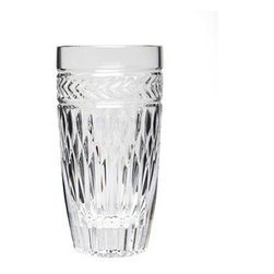 Godinger - Godinger Symphony Highballs - Set of 12 Multicolor - 49233 - Shop for Drinkware from Hayneedle.com! You'll have enough to properly entertain a group in style with the Godinger Symphony Highballs - Set of 12. These 12 quality crystal glass glasses feature a distinctive cut design that sparkles in the light.About GodingerBased in Ridgewood N.Y. Godinger has been creating distinctive kitchenware home decor and gifts for over 40 years. Hand-crafted from crystal pewter and silver Godinger's unique wedding gifts and home decor make any special occasion even more meaningful. From serving dishes and silverware to barware and centerpieces their wide tableware selection puts the art back into dining. Godinger is committed to providing excellent quality and style at affordable prices for every customer.