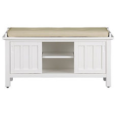 Traditional Accent And Storage Benches by Crate&Barrel