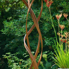 modern garden sculptures by TerraSculpture