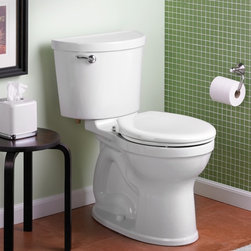 American Standard Champion PRO Right Height Round Front Toilet - •Features Champion® Flushing System