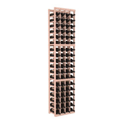 Wine Racks America - 4 Column Standard Wine Cellar Kit in Redwood, White Wash - Rock solid design from our unparalleled fabrication standards. We create superior racks from superior materials. We back that claim with a lifetime warranty and a cash back promise. Modular engineering enables hassle-free expansion and experimentation.