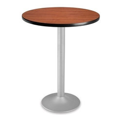 OFM - OFM 30 Round Folding Cafe Table, Cherry - OFM CFT30RD 30 round table looks elegant in both lunch and meeting rooms and looks great with the new Star and Moon series chairs. The banding makes the edges smooth and gives it a finished appearance.