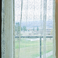 Contemporary Curtains by Sticks and Stones Design Group inc.