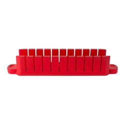 Architec Stackable Appetizer Maker Red - The Architec Stackable Appetizer Maker allows you to create layered bite size gourmet appetizers using everyday ingredients in just 5 minutes.