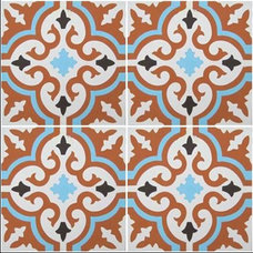 Mediterranean Floor Tiles by www.LUXURYSTYLE.es