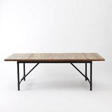 Rustic Dining Tables by West Elm