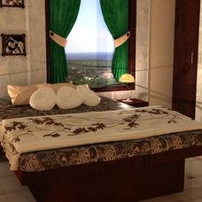 Asian Bedroom by Divya Baranwal