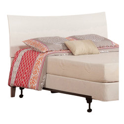 Atlantic Furniture - Atlantic Furniture Soho Twin Headboard in White-Queen - Atlantic Furniture - Headboards - R191842 - The Soho headboard is a curved sleigh style bed with an exquisite finish. The Soho is very rugged and doesnt fall short with its looks.