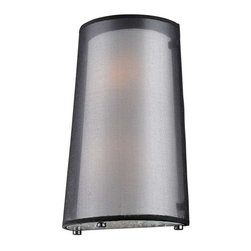 Elk Lighting - Elk Lighting 10310/2 Crystals Modern Wall Sconce in Black Chrome - Elk Lighting 10310/2 Crystals Modern Wall Sconce in Black Chrome.