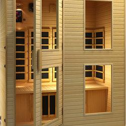 JNH Lifestyles - JNh Lifestyles Vivo 3-4 Far-Infrared Sauna - Product Description