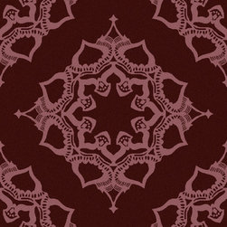 """Surya - Surya Henna HEN-1020 (Violet) 3'3"""" x 5'3"""" Rug - The Surya Henna Collection features hand tufted rugs made with 50% Wool/30% Viscose/20% Cotton."""
