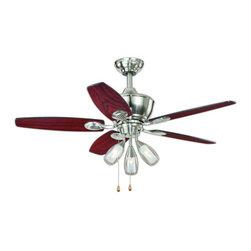 """Vaxcel Lighting - Vaxcel Lighting F0008 Morgan 44"""" 5 Blade Indoor Ceiling Fan with Reversible Moto - Features:"""