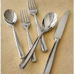 Collins Flatware - It's time to throw away all those flimsy spoons and mismatched forks. When choosing flatware, I like something that's simple and solid, yet still nice enough for casual entertaining. This stainless steel Collins Flatware would be perfect.