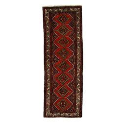 eSaleRugs - 3' 3 x 9' 5 Koliaei Persian Runner Rug - SKU: 110892579 - Hand Knotted Koliaei rug. Made of 100% Wool. 30-35 Years.