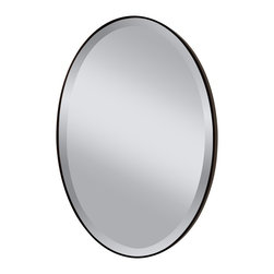 Murray Feiss - Murray Feiss Johnson Transitional Oval Mirror X-BRO6211RM - Murray Feiss Johnson Transitional Oval Mirror X-BRO6211RM
