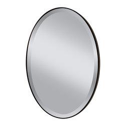 Murray Feiss - Murray Feiss Johnson Transitional Oval Mirror X-BRO6211RM - Murray Feiss Johnson Transitional Oval Mirror X-BRO6211RM