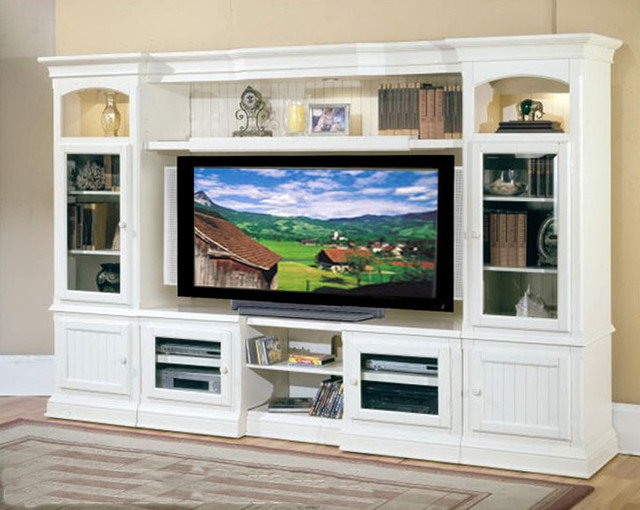 traditional media storage by Home Furniture Mart