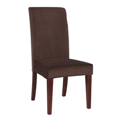 "Powell - Powell Mink Brown Velvet ""Slip Over"" Slipcover X-Z552-147 - Designed exclusively for our ""Slip Over"" Seating, this soft, inviting slipcover retains its smooth fit and removes easily for cleaning or changing. The Mink Brown Velvet ""Slip Over"" is a great way to make your existing furniture new and different. Featuring Mink Brown solid pattern fabric - 70% polyester, 30% rayon, this ""Slip Over"" is appealing and attractive and would make a great addition to your home.  For use with 741-440 chair."