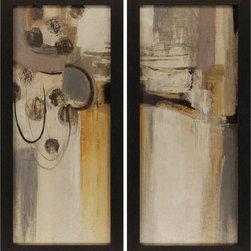 Paragon Decor - Silent Start Set of 2 Artwork - Exclusive Hand Embellished Gicl�ee - No Glass