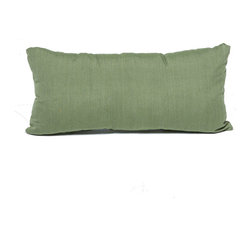 TKC - Pair of New Decorative Outdoor Throw Pillows Cilantro - Rectangle - 11x22 - Help make your outdoor space inviting with the addition of outdoor throw pillows.