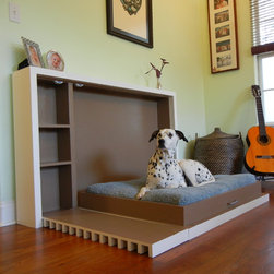 Murphy's Paw Pet Murphy Bed: Initial Prototype - See Our Dedicated Houzz Page for Murphy's Paw Design: