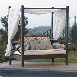 San Diego Outdoor Furniture - Malibu Canopy Daybed