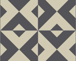 Granada Tile - Serengeti 913 A Tile Sample - The Serengeti 913 A cement tile is both exotic and classic.