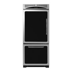 "Heartland - Classic Series HCBMR19LBLK 30"" 18.5 cu. ft. Bottom Freezer Refrigerator  Adjusta - Heartland Classic Refrigeration is all about flexibility freshness and styling Our four-sided adjustable door bins are sturdy enough to lift out even when fully loaded and the laddered system allows you to adjust the bins to fit your storage needs Hu..."