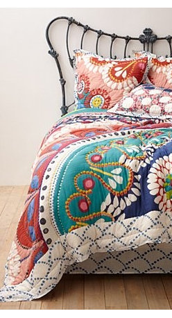 Anthropologie - Tahla Quilt - *Part of our Hothouse Quilt collection