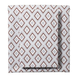 Air/Chocolate Diamond Sheet Set