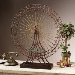 Indoor statuary - The Grande Exposition Ferris Wheel Statue